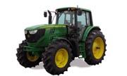 John Deere 6105M tractor photo