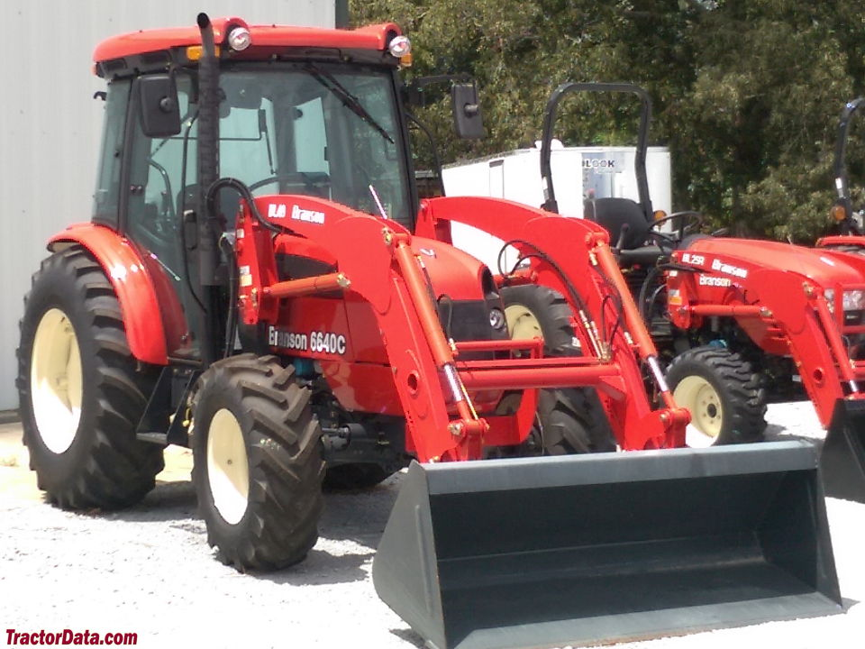 Branson 6640C with front-end loader.