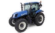 New Holland T6.155 tractor photo