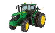 John Deere 6195R tractor photo