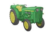 John Deere 1020 VU tractor photo