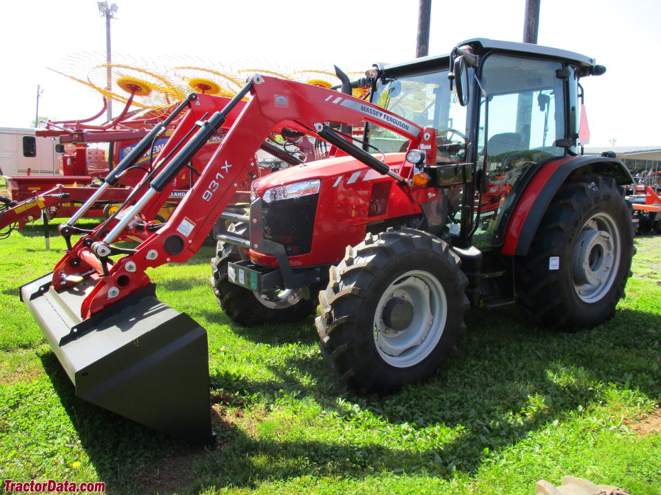 Massey Ferguson 4708 with 931X front-end loader.