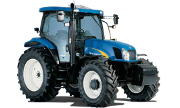 New Holland TS125A tractor photo