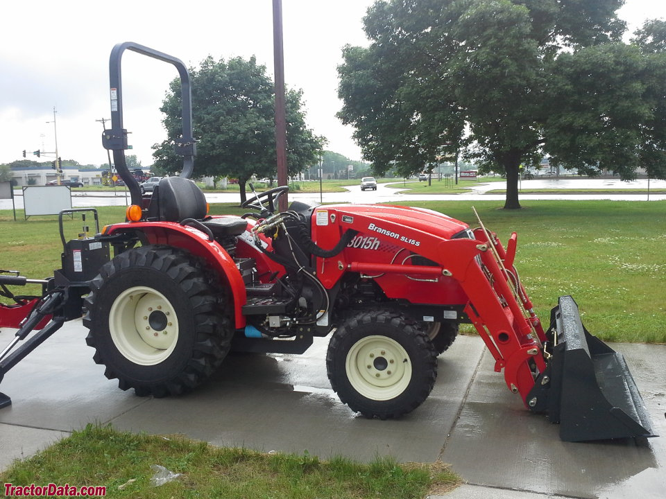 Branson 3015H with SL15S loader and BH7615 backhoe.