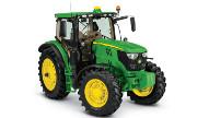 John Deere 6145R tractor photo