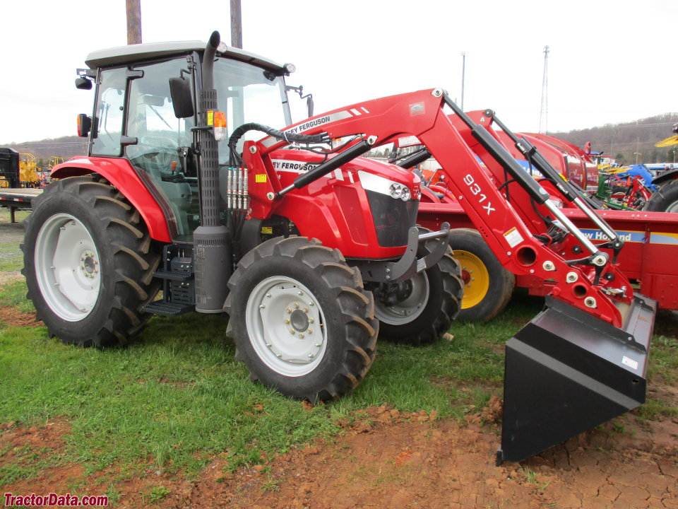 Massey Ferguson 5711 with 931X front-end loader.