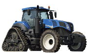 New Holland T8.380 SmartTrax tractor photo
