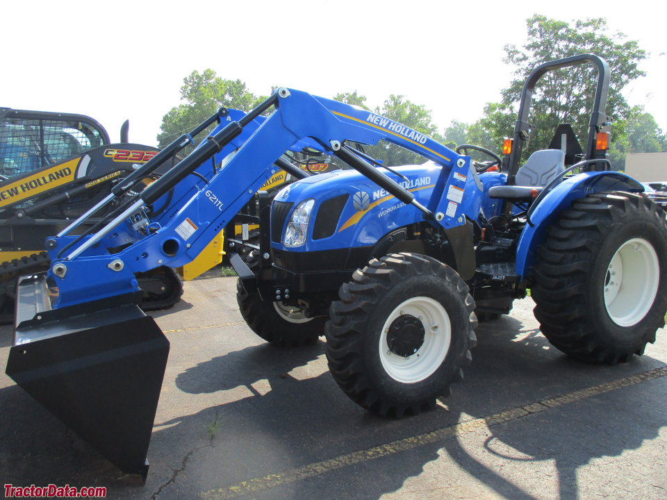 New Holland Workmaster 50 with 621TL front-end loader.
