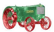 Turner-Simplicity 14-25 tractor photo