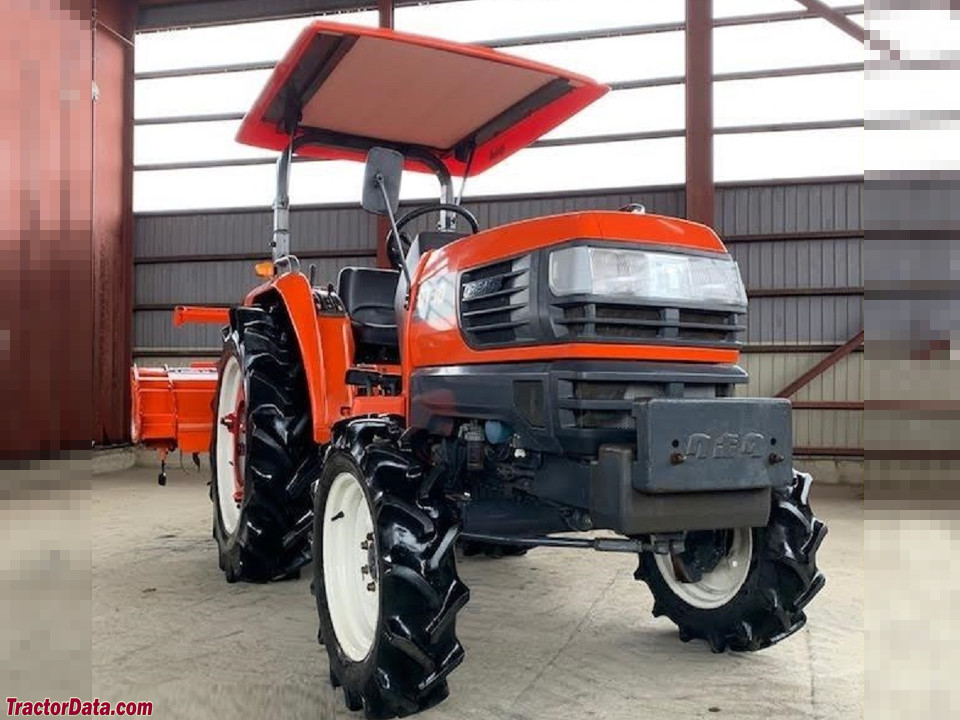 Kubota GT30 with ROPS.
