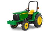 John Deere 3032E tractor photo