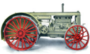 Huber 21-39 Super Four tractor photo