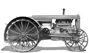 Huber 20-40 Super Four tractor photo