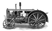 Huber 20-36 Light Four tractor photo