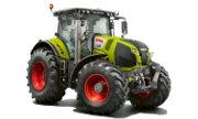 Claas Axion 820 tractor photo