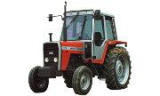 Massey Ferguson 675 tractor photo