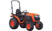 Kubota B2601 tractor photo