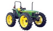 John Deere 5520 Hi-Crop tractor photo