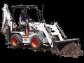 Bobcat B250 backhoe-loader tractor