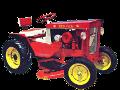 Bush Hog model HD-10 garden tractor