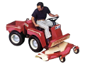 Hesston Front Runner H140 garden tractor