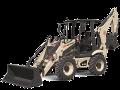Ingersoll Rand BL570 backhoe-loader tractor