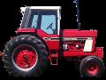International model 1086 tractor