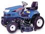 Iseki model SXG22 garden tractor.