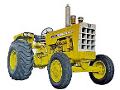 Oliver model 1900 industrial tractor.