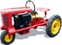 Pazner model A lawn tractor