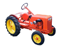 Harvey Power-Flex 10 garden tractor