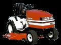 Shibaura GT-161 garden tractor