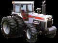 White 2-180 tractor.
